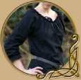 LARP Medieval shirt with lace